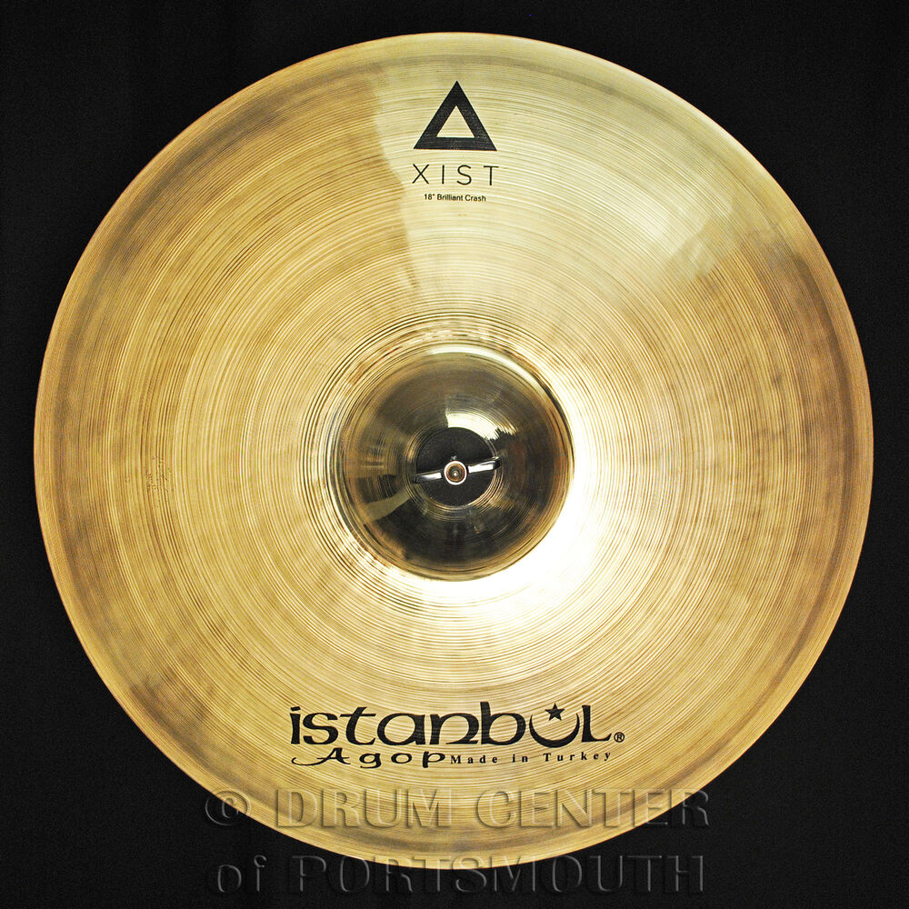 istanbul agop xist brilliant crash cymbal 18 video demo ebay. Black Bedroom Furniture Sets. Home Design Ideas