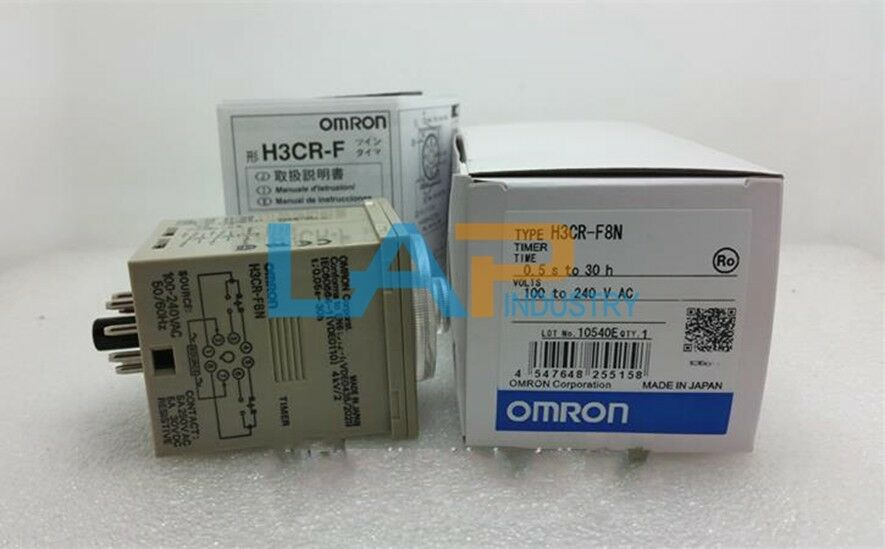 1pc New For Omron Time Delay Relays H3cr