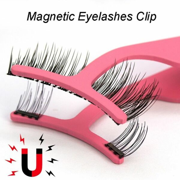 Eyelashes Tweezers Wider Clip Extension Tool Magnetic Lashes Applicator
