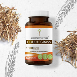 Secrets Of The Tribe Couch Grass Capsules, 500 mg