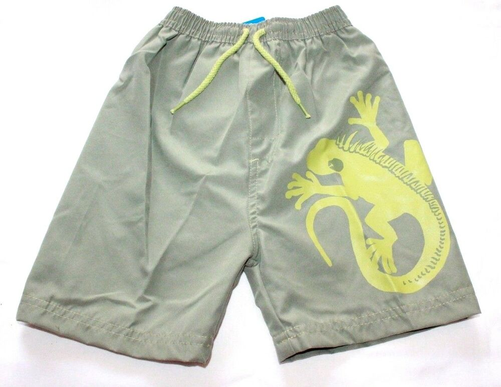 47d21fb715 Boys Swimming Shorts Baby Kids Creature Summer Swim Trunks New 6 Months- 4  Yr | eBay