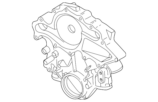 Genuine Ford Timing Cover F5dz 6019 A