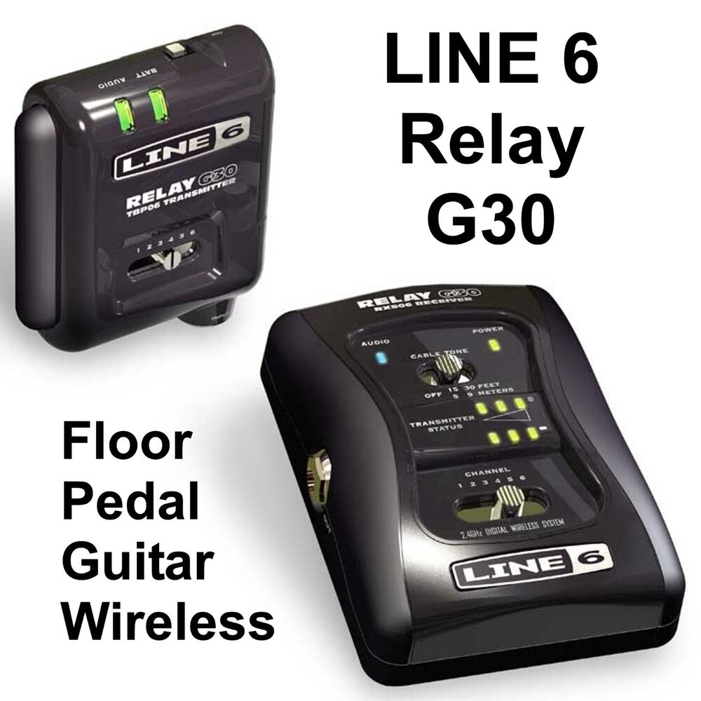 line 6 relay g30 floor pedal guitar digital wireless system 4954377613355 ebay. Black Bedroom Furniture Sets. Home Design Ideas