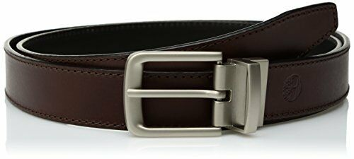 Timberland Accessories Mens 35mm Classic Leather Reversible Belt