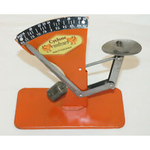 Vintage Style Cyclone Tin Poultry Egg Scale