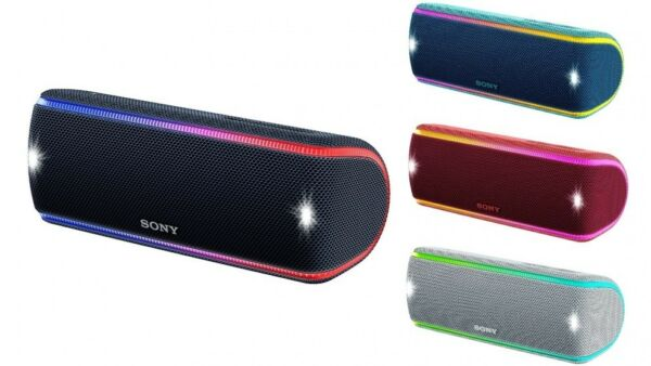 Sony SRS-XB31 Portable Extra Bass  Wireless Bluetooth Speaker With NFC/ Lights