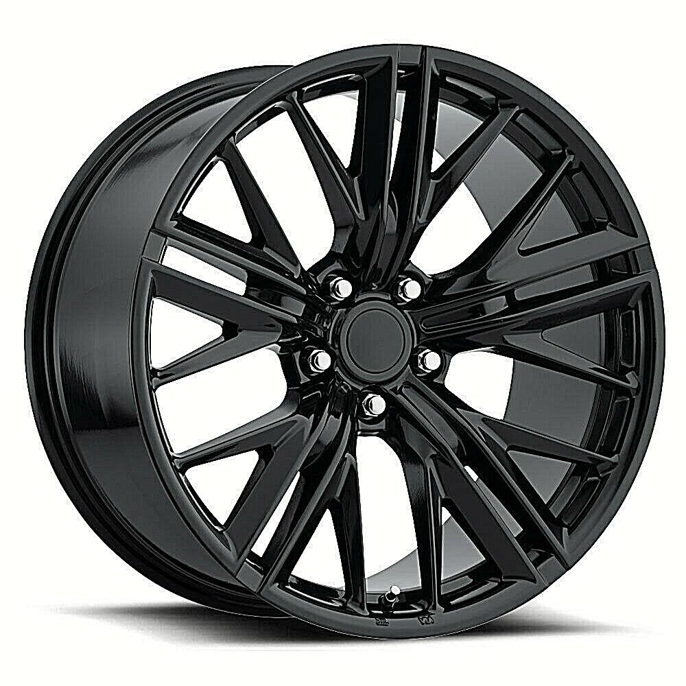 Details About 20x9 20x10 Camaro 2017 Zl1 Ss Style Stagger Gloss Black Fits 2010 Up Wheel Rim