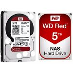 WD RED 5TB NAS Hard Disk Drive 5400 RPM Class SATA 6 Gb/s 64MB Cache WD50EFRX