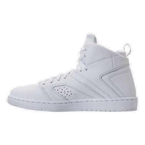 4e1c695fa3c Details about Air Jordan Flight Legend Men s Basketball Shoes White White  AA2526 100 size 13