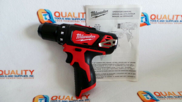 New Milwaukee 2407-20 M12 12V Li-Ion Cordless 3/8