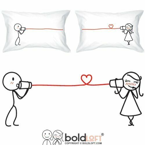 55f6a2b1d0 Details about BOLDLOFT Say I Love You Couples Pillowcases| Couples Gifts|  Gifts for Her