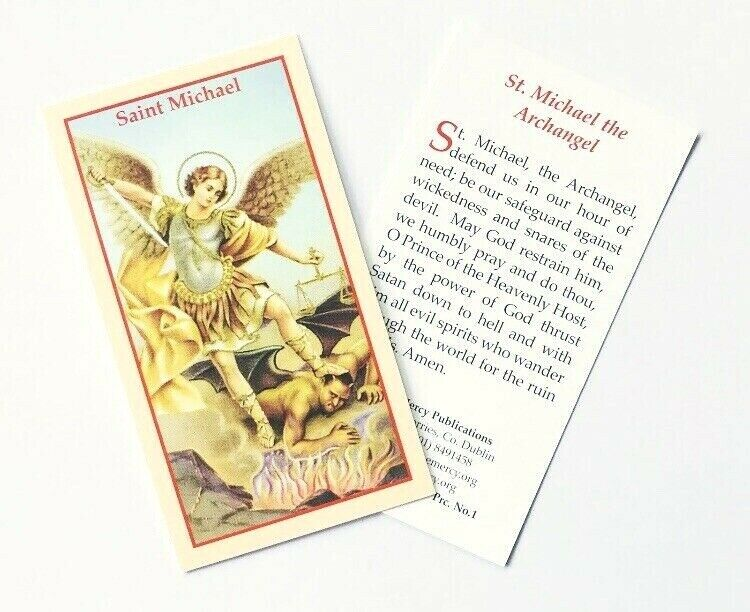 ST SAINT MICHAEL THE ARCHANGEL - PRAYER FOR PROTECTION ...