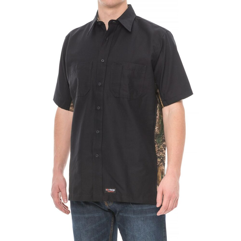 b103b23981 Mens Wrangler Short Sleeve Denim Shirt – EDGE Engineering and ...