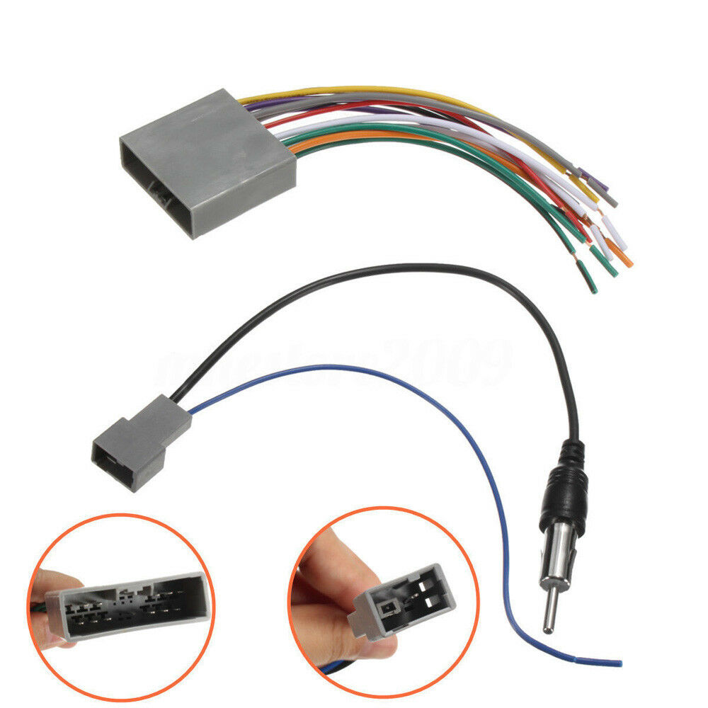 Car Stereo Radio Player Wiring Harness Dvd Adapter For Honda Civic 06 Si Diagram Free Picture Cr V 2006 11 Ebay