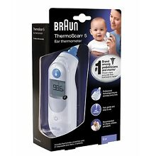 Braun Thermoscan 5 Ear Thermometer IRT 6500