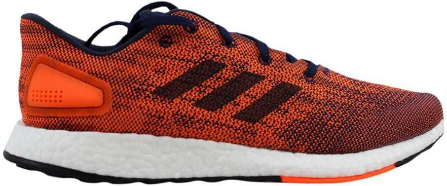 407897afab9f1 Adidas PureBoost DPR Collegiate Navy Night Navy-Solar Orange S82011 Men s  SZ 11 190308435298