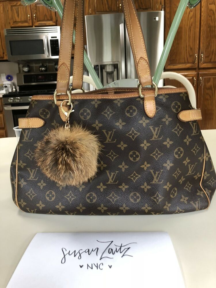 80eb081c1d68 Louis Vuitton Batignolles Horizontal Monogram Canvas Luxury Tote   eBay