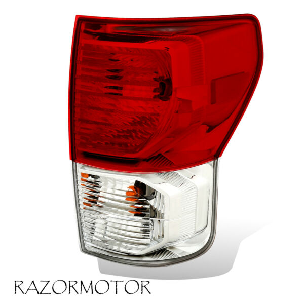 2010-13 Passenger Replacement Tail Light For Toyota Tundra W/ Bulbs and Harness