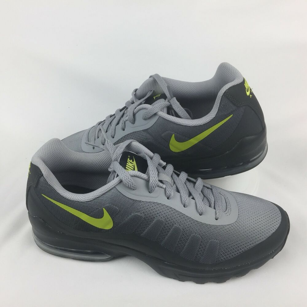 new products 9ee26 fab92 Details about Nike Air Max Invigor Print Running Sneakers Grey Bright  Cactus Size 10