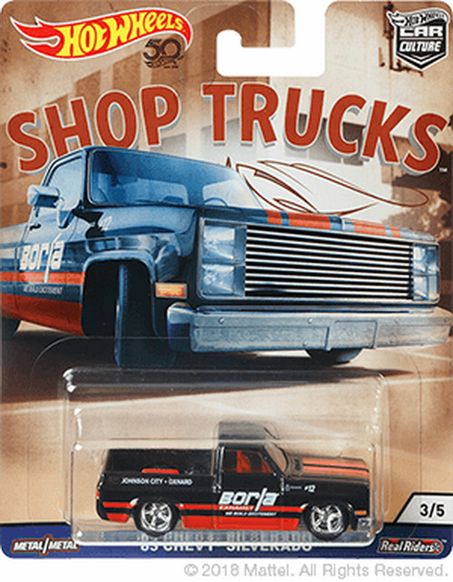 hot wheels car culture shop trucks 39 83 chevy silverado. Black Bedroom Furniture Sets. Home Design Ideas