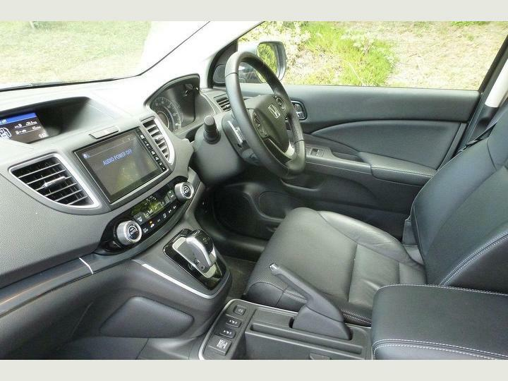 Details About Honda Crv Mk4 12 18 Black Leather Interior Seats Excellent Condition Low Miles