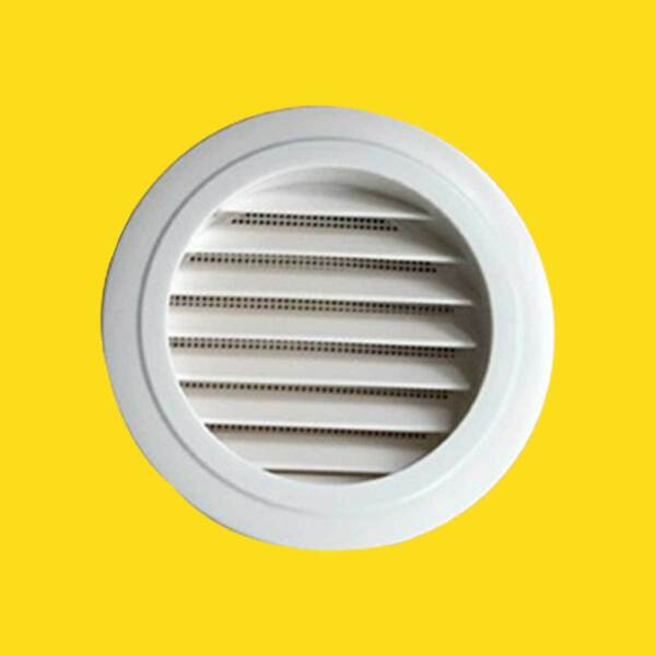 Circle Air Vent Grill Cover Ducting Ventilation Cover Fly  Wall Ceiling