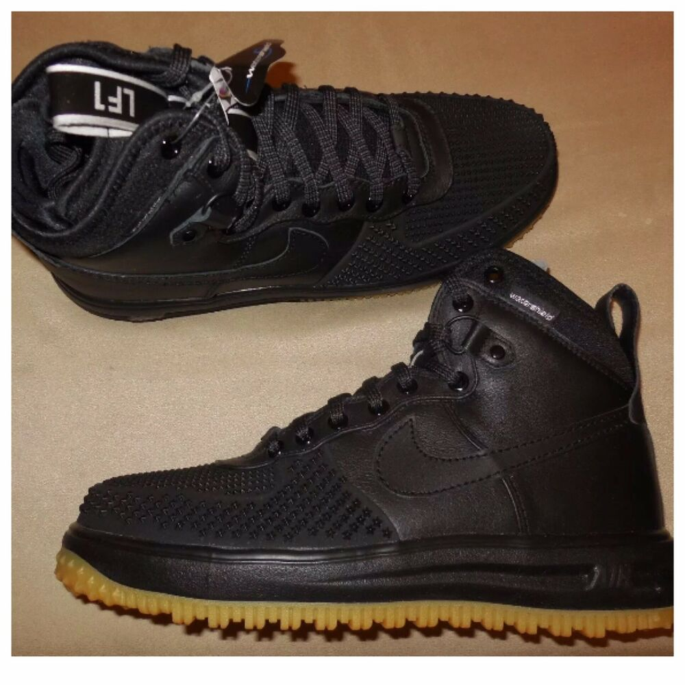 premium selection bb299 5c45d Details about Nike Lunar Force 1 Duckboot Shoes -Style  805899 003- Air  Force 1 -Sz 8 NEW--