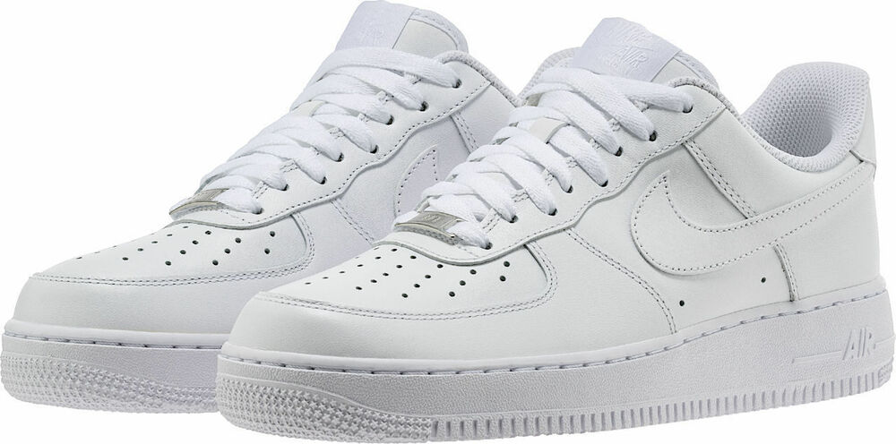 uk availability 1d63b bb923 Details about Nike Men s Air Force 1 Sneakers - Size 13 US, White