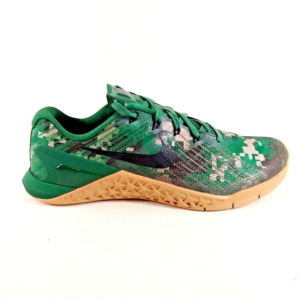 innovative design f1296 4b53f Details about Nike Metcon 3 Digi Camo Green Black Brown Training Crossfit  Shoes Men s Size 7.5
