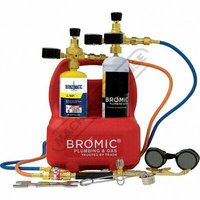 Bromic Oxy Set Mobile Brazing & Welding System,Oxygen,Mapp Pro Trade Quality 1
