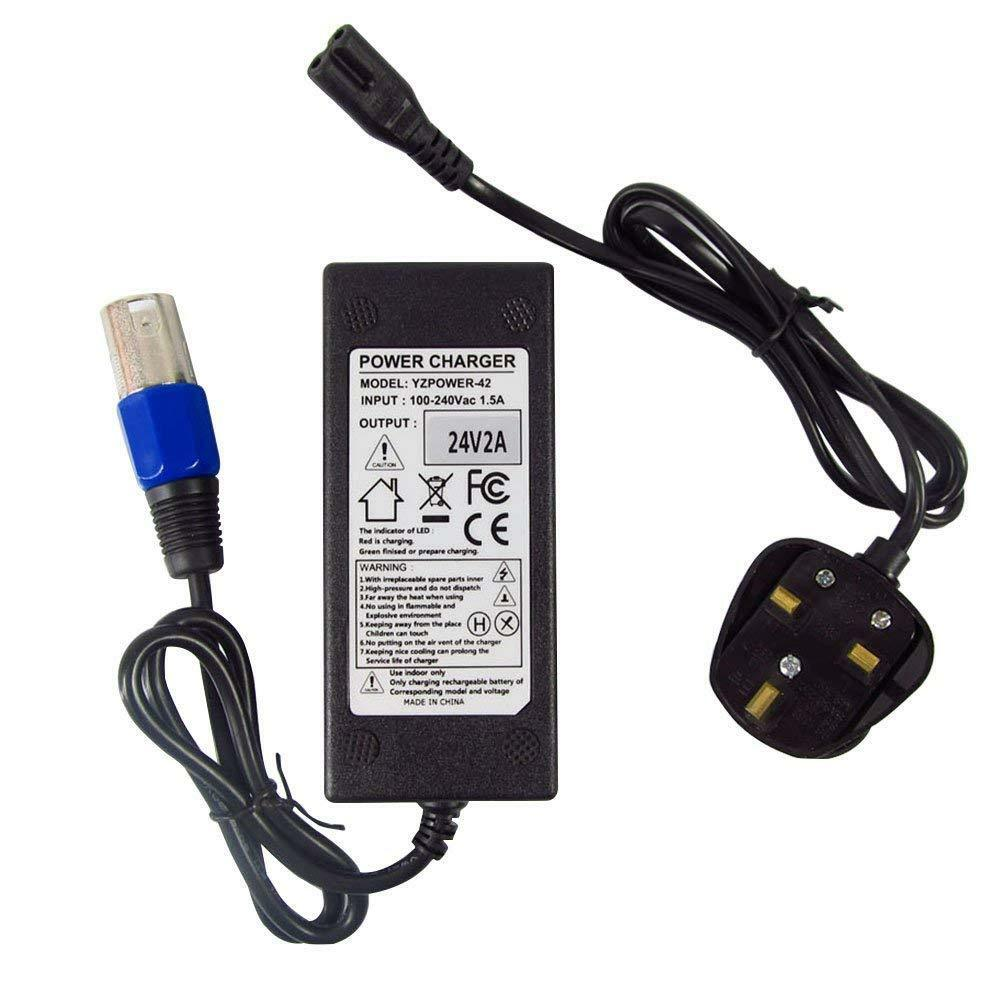 Details About 24v 2a Electric Scooter Battery Charger For Go Elite Traveller Schwinn F 18