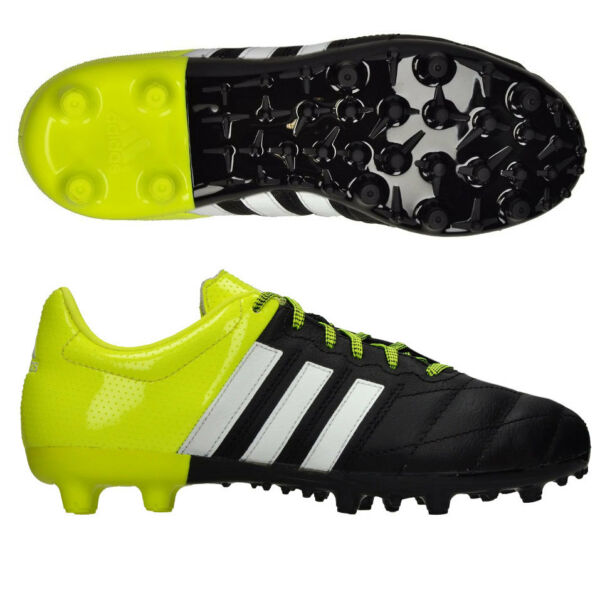 low priced 468dc 2a6ac FW17 ADIDAS ACE15.3 FGAG SCARPINI JR LEATHER SHOES FUßBALL ACE 15.3 B32808