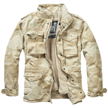 img-Brandit M-65 Giant Jacket Military Tactical Mens Warm Field Parka Sandstorm Camo