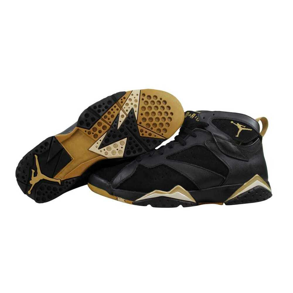 buy online 1aa91 06a93 Details about Nike Air Jordan VII 7 Retro Black Gold GMP Golden Moments  Pack 304775-030 SZ 11