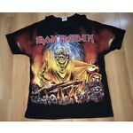 DEADSTOCK Vintage 90s Iron Maiden All Over Print T Shirt