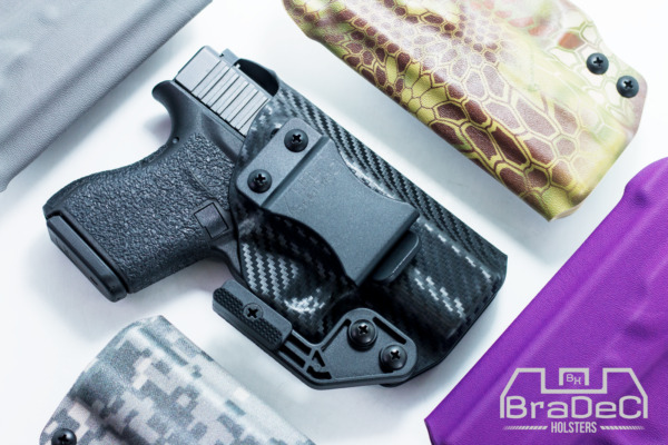 BraDeC: IWB Concealment Holster for Glock 43, 43X