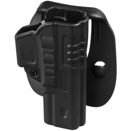 img-Helikon Fast Draw Pistol Holster Paddle Military Security Police Open Top Black