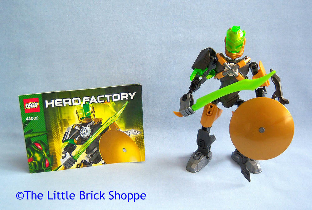 Lego Hero Factory Brain Attack 44002 Rocka Complete With