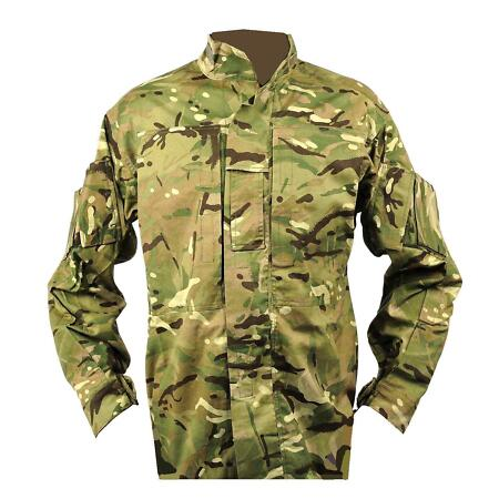 img-British Army Combat Camo Jacket MTP Combat Shirt Temperate PCS Zip Surplus Cadet