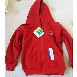 Toddler Red Hoodie St. Peter Catholic School Embroidered NWT