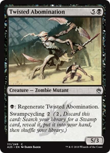 4x ABOMINIO FOLLE - TWISTED ABOMINATION Magic A25 Mint