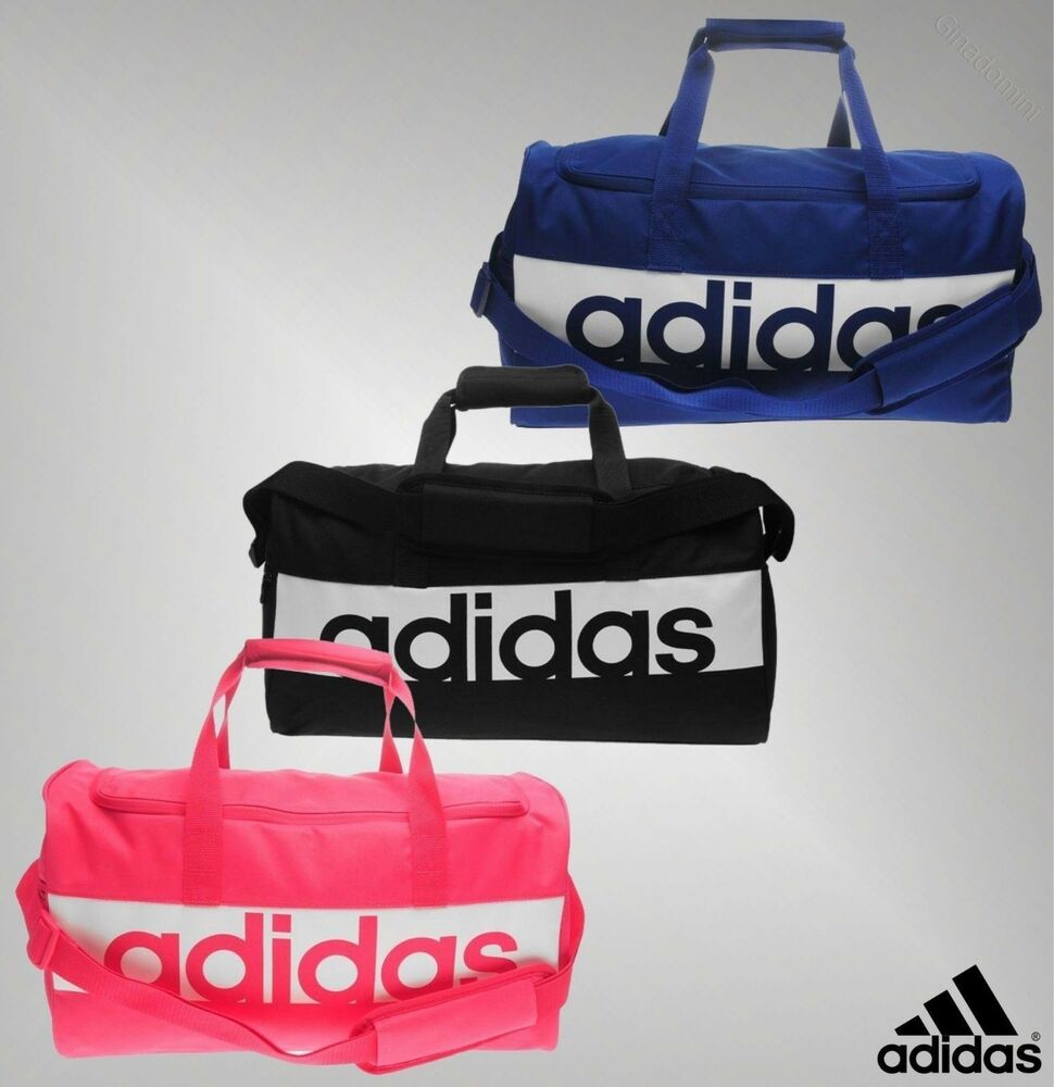 Details about Mens Genuine Adidas Everyday Gym Fitness Linear Team Bag  Holdall Accessories d3e0c6ef3f247