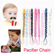 Hot Lanyard Boy Girl Teether Strap Nipple Holder Soother Chain Pacifier Clips