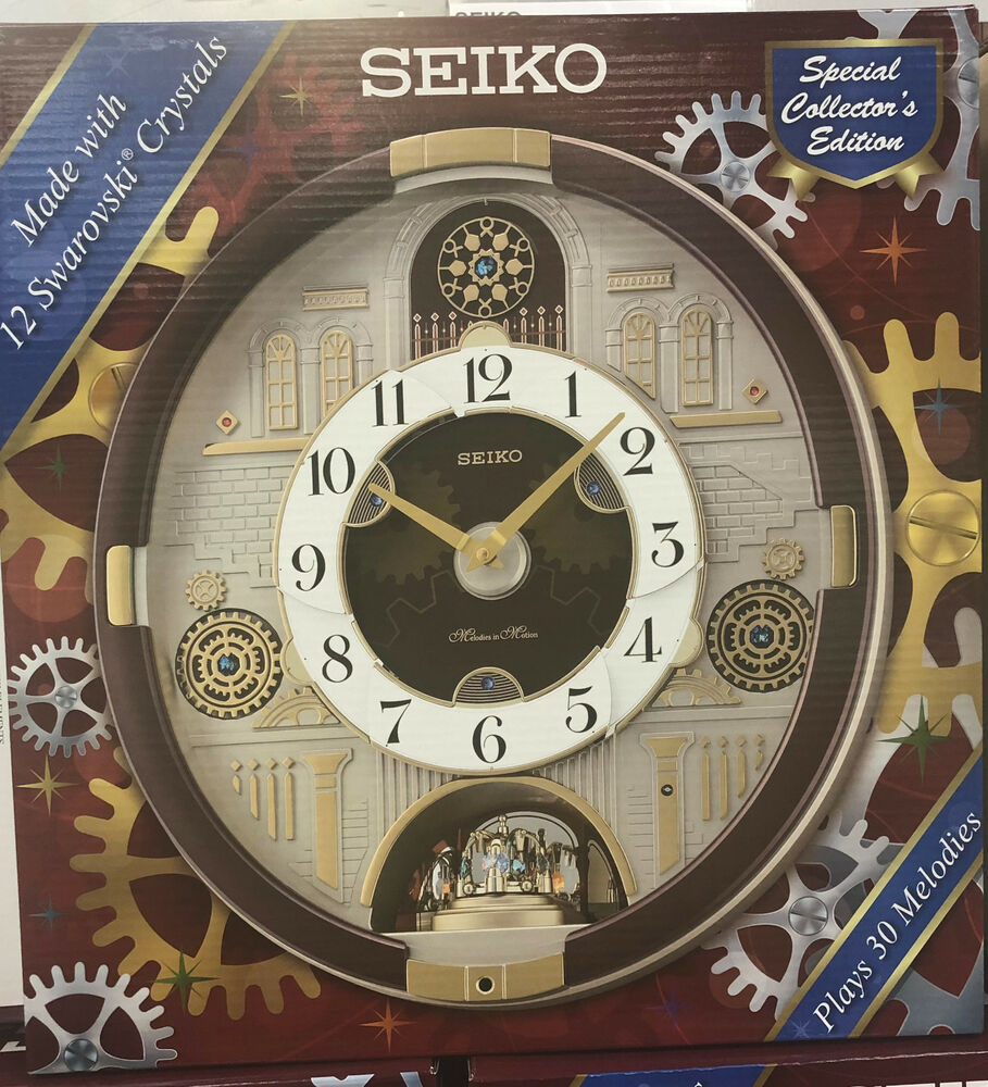 Seiko Melodies In Motion Clock Special Collector S Edition