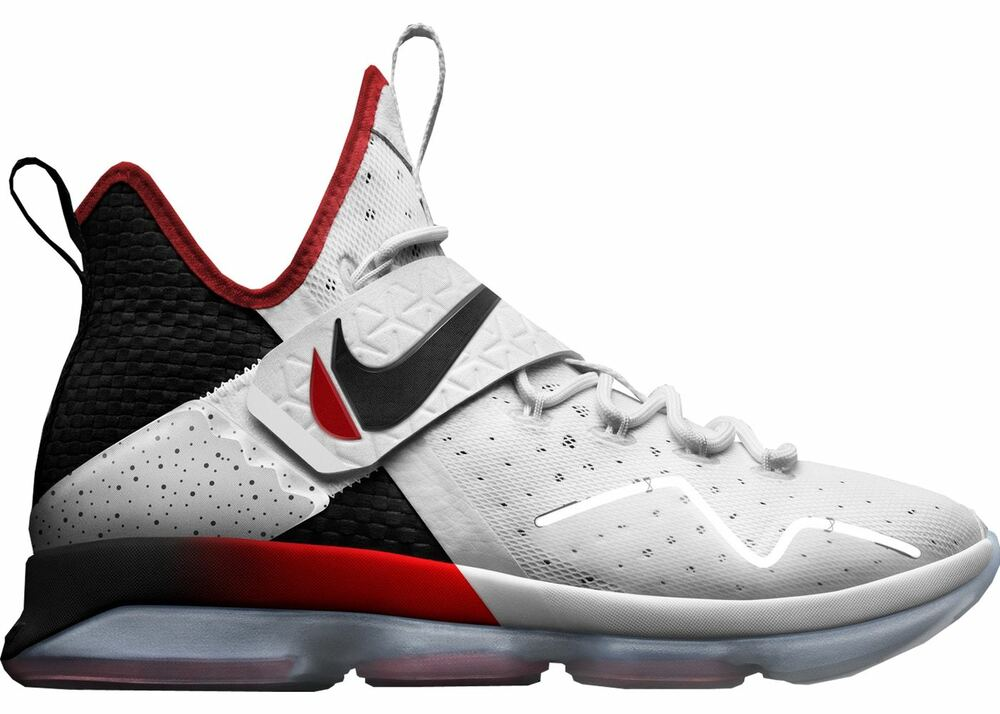 super popular 88274 d3654 New Mens Nike Lebron XIV Basketball Shoes Size 10.5 Turn The Switch  White Black 884802127918   eBay