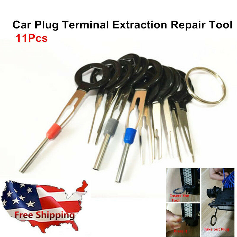 Details about US Car Terminal Removal Tool Wiring Plug Connector Extraction  Puller Release Pin