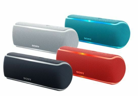 Sony XB21 Portable Extra Bass Bluetooth Speaker With NFC/ Lights  SRS-XB21