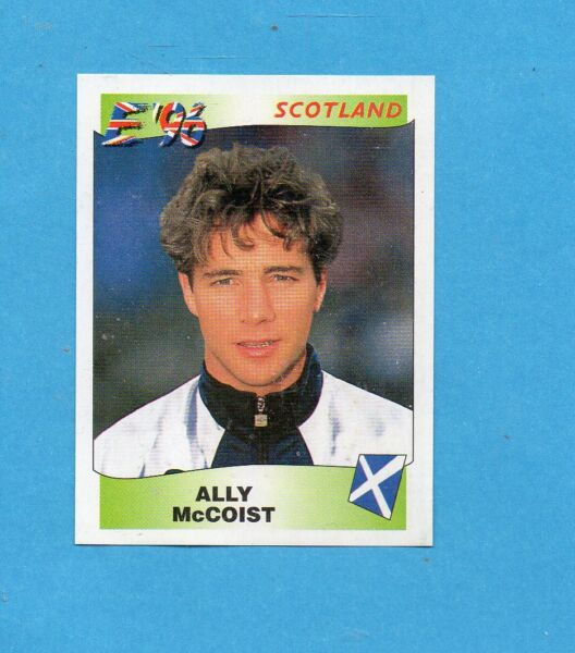 Panini EURO 92 N 145 SCOTLAND SMITH NEW WITH BLACK BACK TOP MINT!!