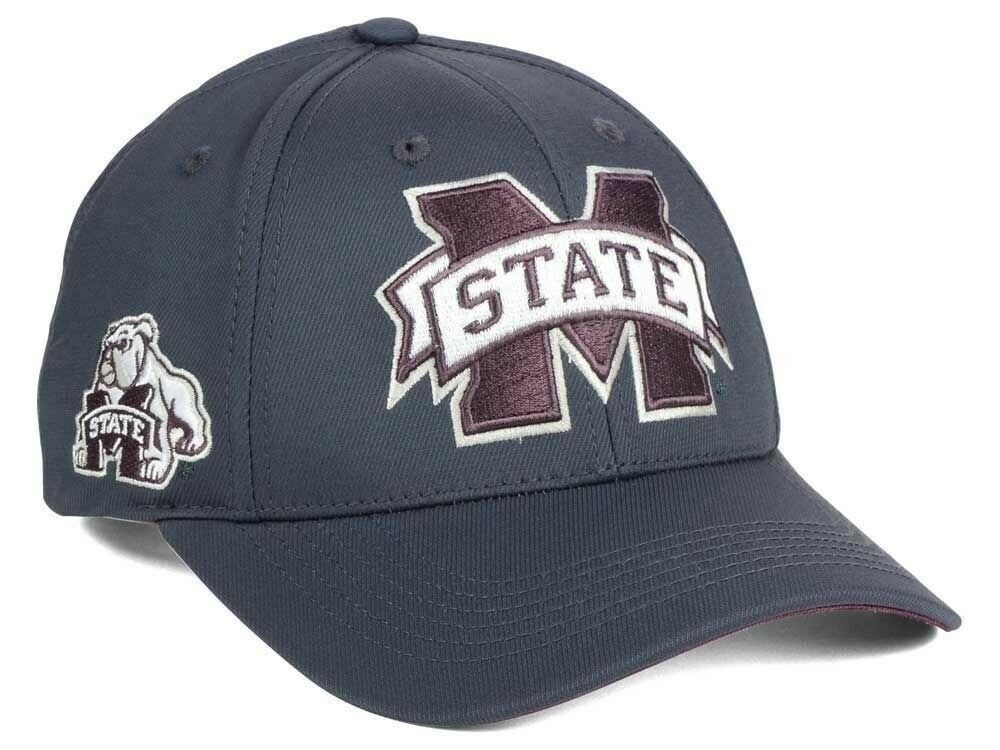 hot sales 45669 7b1f3 Details about Mississippi State Bulldogs Top of the World NCAA Fresh 2  Adjustable Cap Snapback