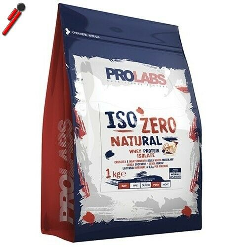 Prolabs, Natural Whey, 1000 g 1 kg Proteine siero di latte concentrate e isolate